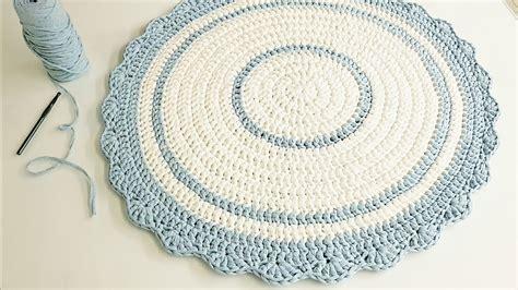 tapete redondo de croch 234 fio de malha croch 234 circular perfeito diy tutorial de croch 234