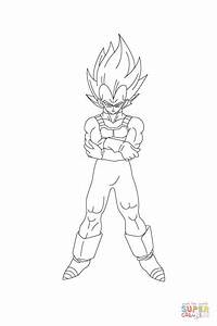 Dbz Vegeta Coloring Pages - Coloring Home