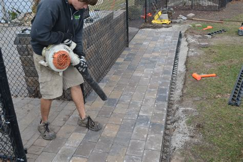 patio installing patio pavers home interior design
