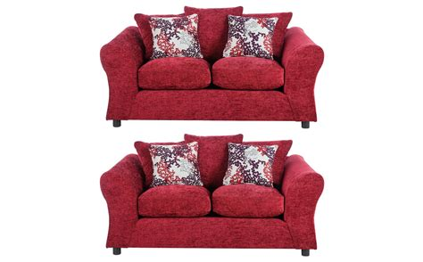 Settees Argos by 2 X Two Seater Sette Sofa Chairs With