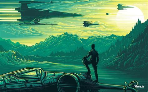 star wars  force awakens animated hd wallpaper