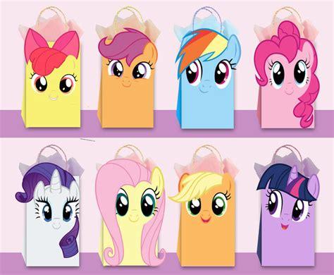pony diy favor bag template   ahlamdesigner