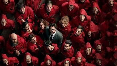 Heist Money 4k Netflix Season Wallpapers Papel