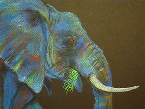 An Elephant a Day: Elephant No. 318: Soft Pastels