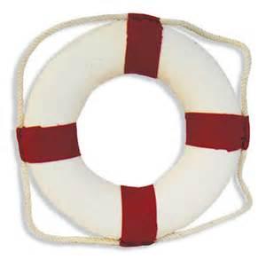 red and white life preserver ring coastal decor home decor
