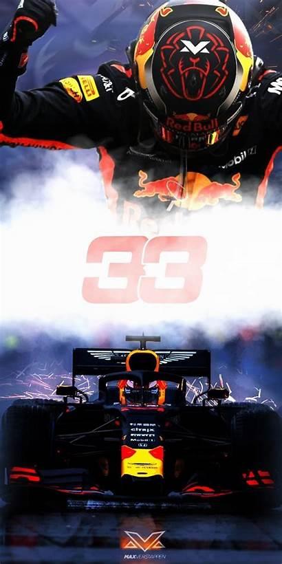 Verstappen Wallpapers Bull Phone F1 Formula Nummer