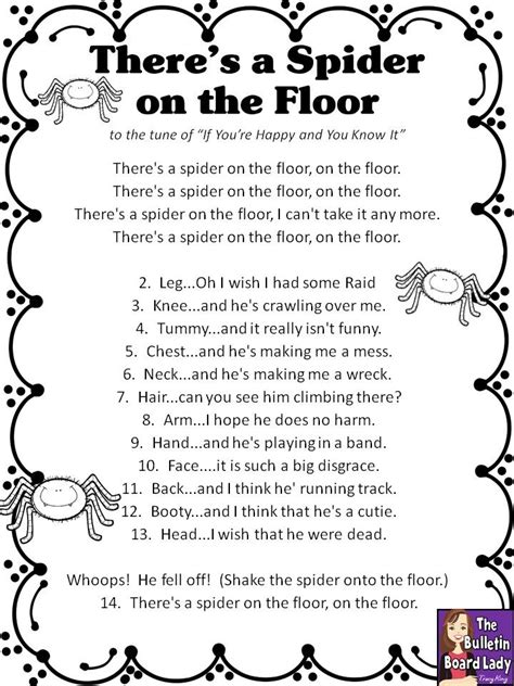 halloween preschool songs 12 best poetry images on school songs and beds 310