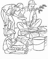 Camping Coloring Pages Camp Fun Printable Sheets Boys Summer Scout Father Fathers Boy Scouts Activities Printing Cooking Para Colorir Adults sketch template