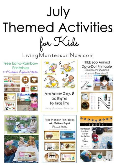 july themed activities for 603 | July Themed Activities for Kids