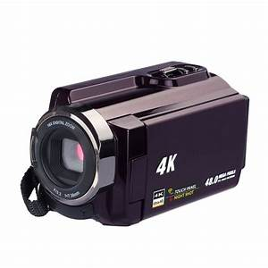 New 4K Camcorder Video Camera Camcorders Ultra HD Digital Cameras and Video Recorder with Wifi ...