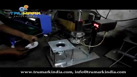cup foil sealing machine manual hand operated model youtube