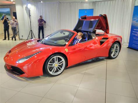 Ferrari's New 488 Spider Drops Roof