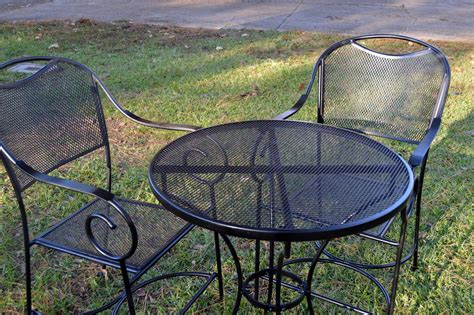 Metal Outdoor Furniture by Restore Metal Outdoor Furniture To Quot Like New Quot