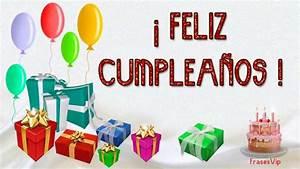 FELIZ CUMPLEAÑOS con frases y imágenes bonitas HAPPY BIRTHDAY with pretty phrases and images