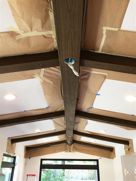 Diy Faux Wood Beams Withheart