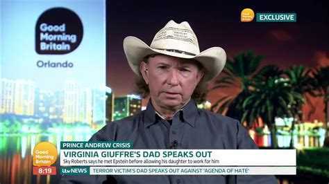 Jeffrey Epstein sex slave Virginia Roberts dad has no ...