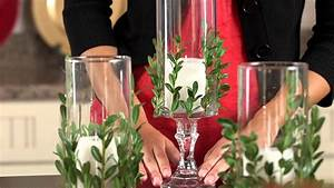 Dollar Tree Christmas Craft Idea- Vase with Greenery - YouTube