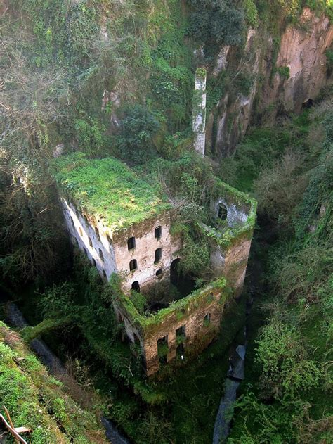 haunting images  abandoned places   give