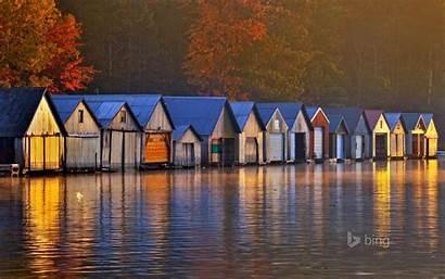 Lake Sudbury Ontario Greater Panache Boathouses Canada