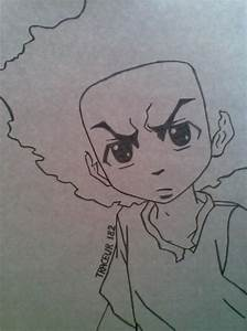 Huey Freeman By Traceur182 On Deviantart