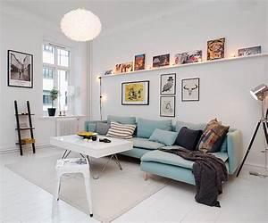 deco petit salon 22 idees de meubles couleurs et accents With deco petit espace salon