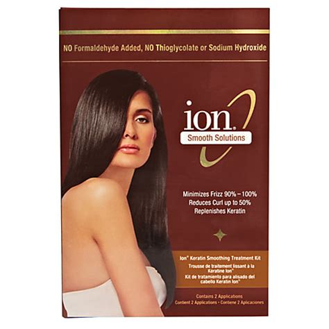 ion keratin smoothing treatment