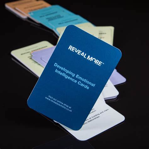 Developing Emotional Intelligence Cards Reveal Solutions