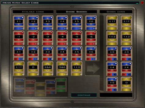 Wars Pazaak Deck by Pazaak Cards