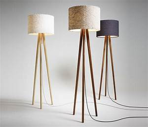 15 tripod floor lamps to brighten up your home dmlights blog for Used wood floor lamp