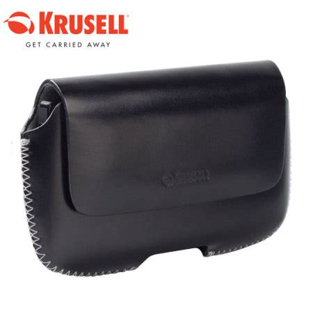 krusell leather hector black 3 krusell hector xl leather pouch black mobilezap kruse