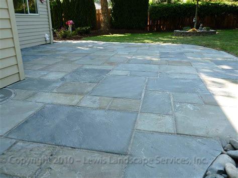bluestone patio ideas lewis landscape services bluestone patios portland oregon beaverton or installers of