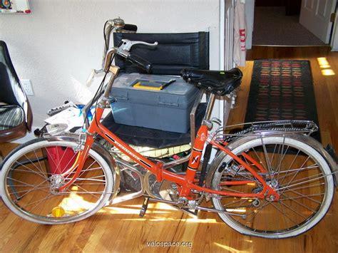 Peugeot Folding Bike by 1972 Peugeot Ns22 Folding Bike On Velospace The Place For