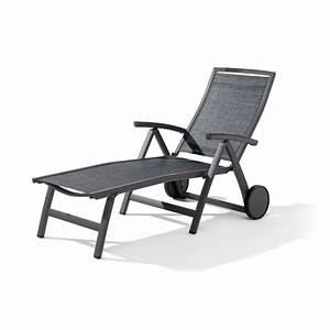 Bain De Soleil Gris : bain de soleil multi position gris fonc le r ve chez vous ~ Dode.kayakingforconservation.com Idées de Décoration