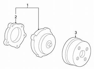Buick Terraza Engine Water Pump Pulley
