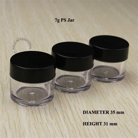 100 x 7 g vides pots cosm 233 tiques emballage petit pot en plastique avec couvercle r 233 cipients d