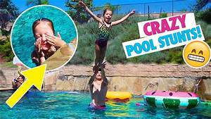SUMMER TIME POOL PARTY and TRICKS! - YouTube