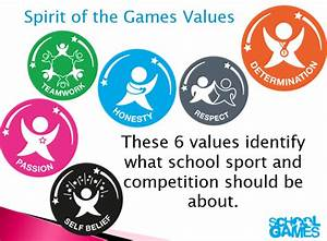 School Games Values | South Cambs School Sports Partnership