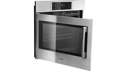 benchmark  single wall oven left side opening door hblpluc stainless steel  appliances