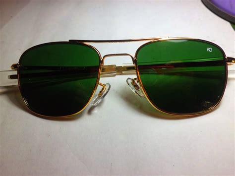 koleksi antik kacamata american optical ao frame gold dan