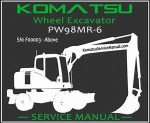 Komatsu Pw98mr