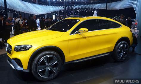 Shanghai 2018 Mercedes Benz Concept Glc Coupe Paul Tan