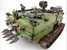 Warhammer 40K Nurgle Tanks from Hard Drives Make
