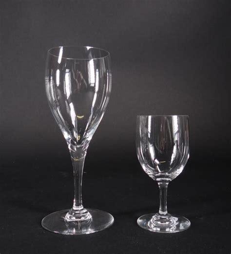 baccarat barware glassware baccarat 22 glasses