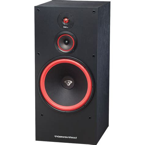 cerwin 15 floor speakers cerwin sl 15 floorstanding speaker sl 15 b h photo