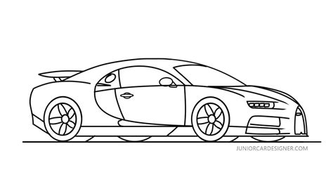 Subscribe to see more of my drawing tutorials. How To Draw a Bugatti Chiron | Bugatti chiron, Car drawings, Bugatti