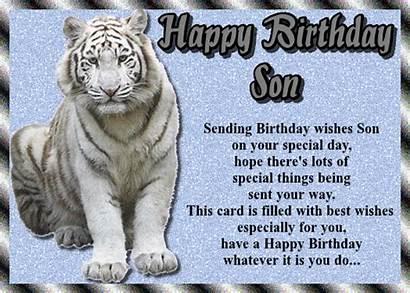 Son Special Birthday Card Greetings Send Ecard