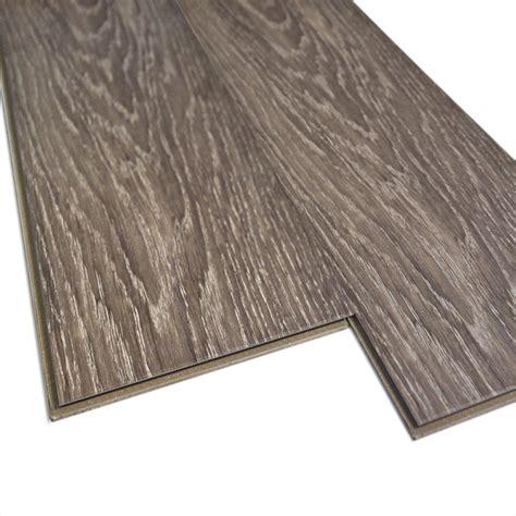 lowes canada vct tile monarch 5 75 in w x 48 in l brushed grey oak luxury