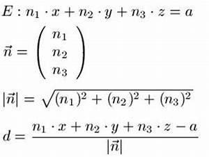 Abstand Punkte Berechnen : abstand punkt zu ebene ~ Themetempest.com Abrechnung