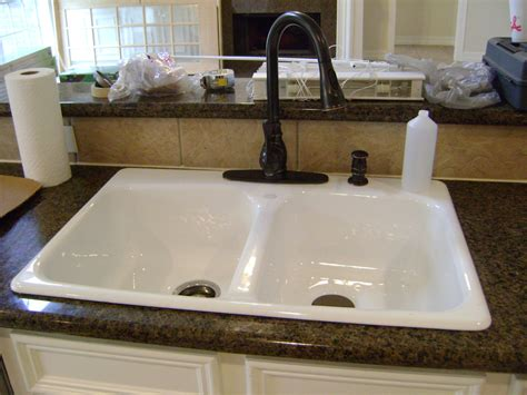 white kitchen sink faucets image gallery white sink