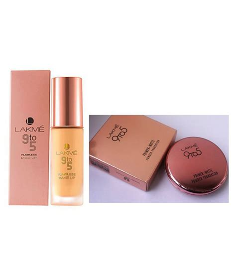 9TO5 LIQUID FOUNDATION & 9TO5 PRIMER+MATTE COMPACT 10 GM ...